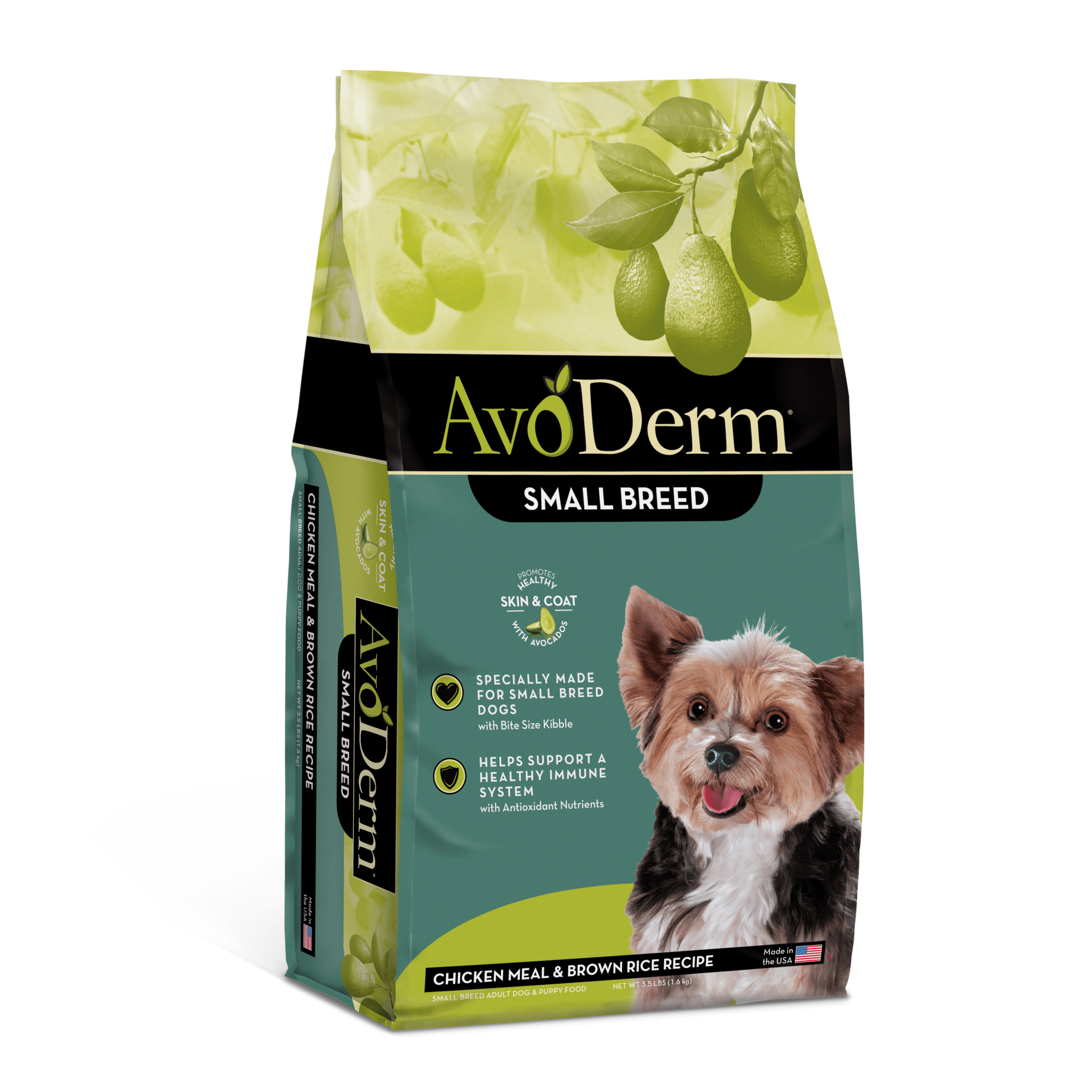 AvoDerm AvoDerm Small Breed Chicken Meal & Brown Rice Dry Dog Food
