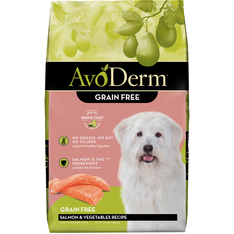 AvoDerm AvoDerm Grain Free Salmon & Vegetables Dry Dog Food
