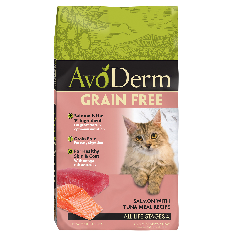 AvoDerm AvoDerm Grain Free Salmon with Tuna Meal Dry Cat Food