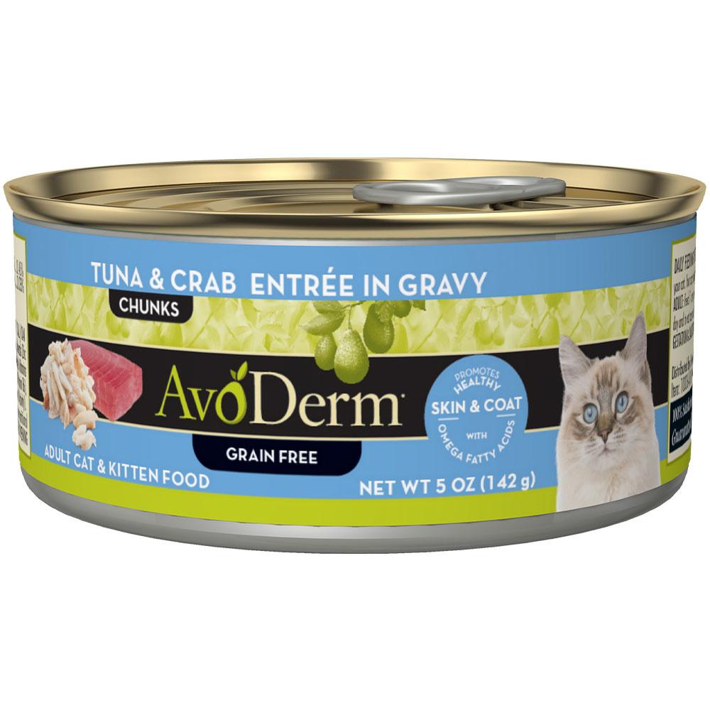 AvoDerm AvoDerm Tuna & Crab Entree in Gravy Wet Cat Food
