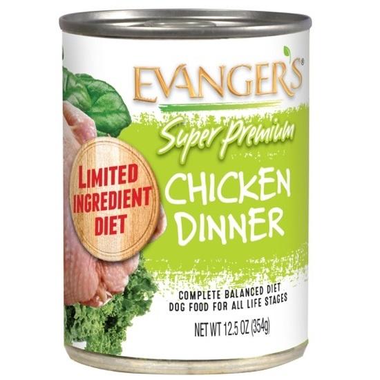 Evanger's Evanger's Super Premium Chicken Dinner Wet Dog Food 13oz