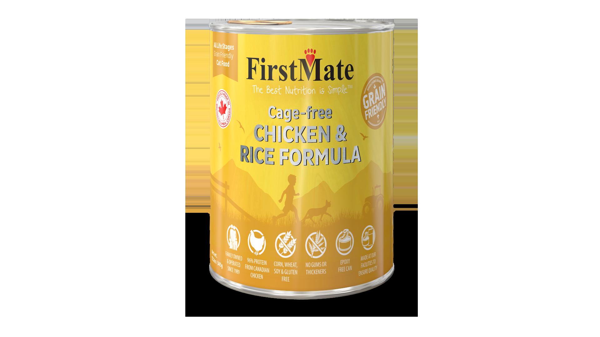 FirstMate FirstMate Grain Friendly Chicken & Rice Wet Cat Food