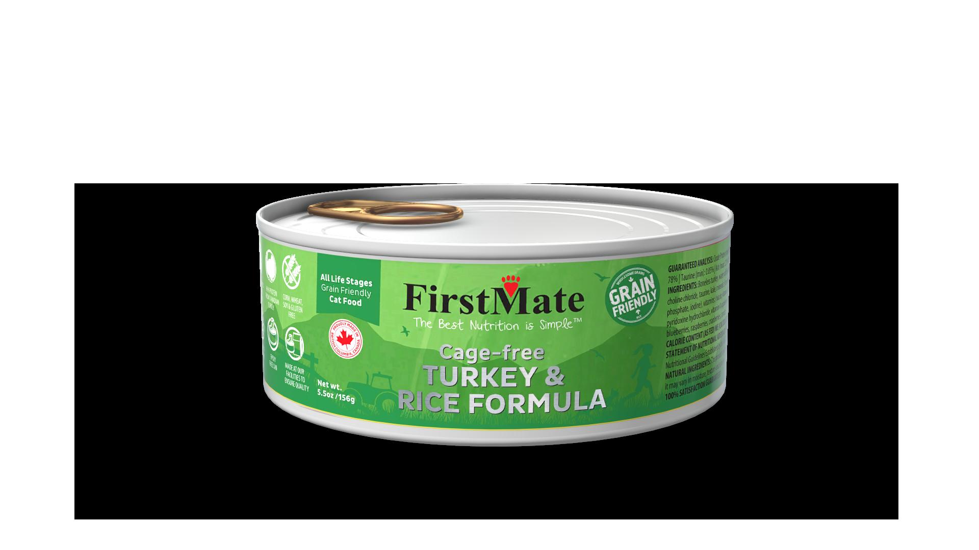 FirstMate FirstMate Grain Friendly Turkey & Rice Wet Cat Food