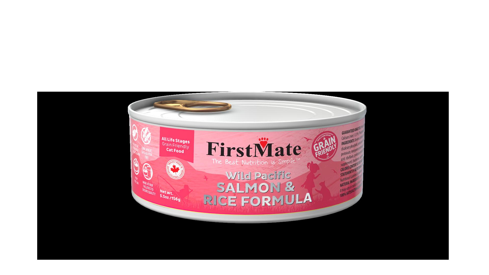 FirstMate FirstMate Grain Friendly Salmon & Rice Wet Cat Food