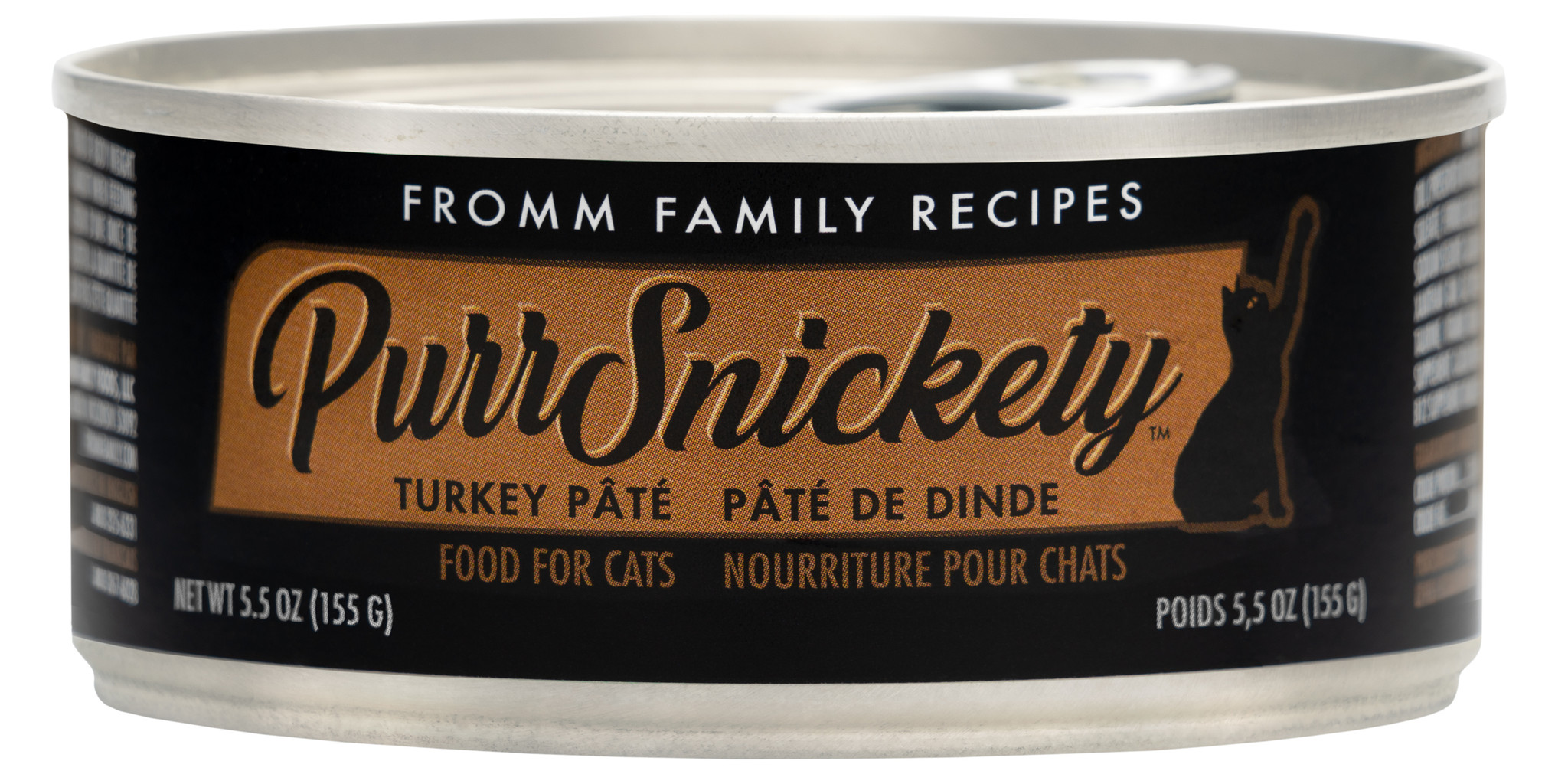 Fromm Fromm PurrSnickety Turkey Pate Wet Cat Food 5.5oz
