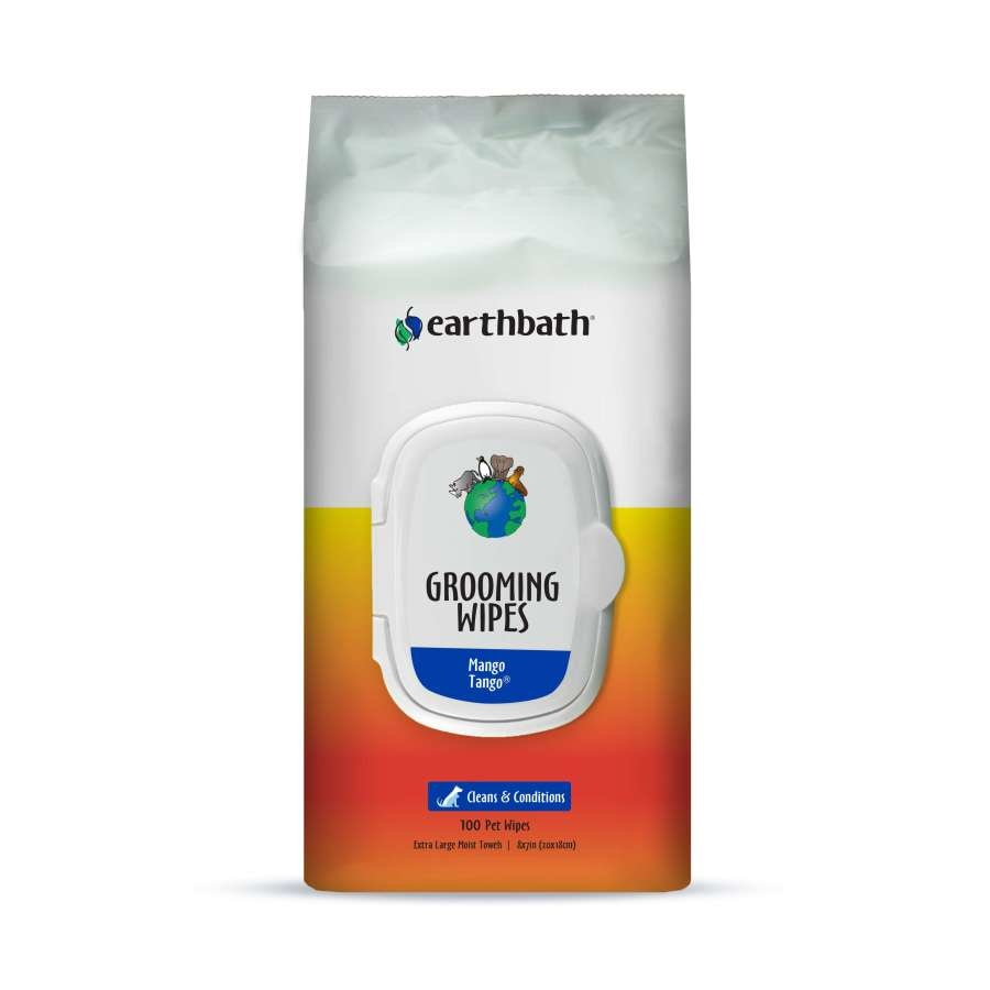 Earthbath Earthbath Clean & Condition Mango Tango Grooming Wipes
