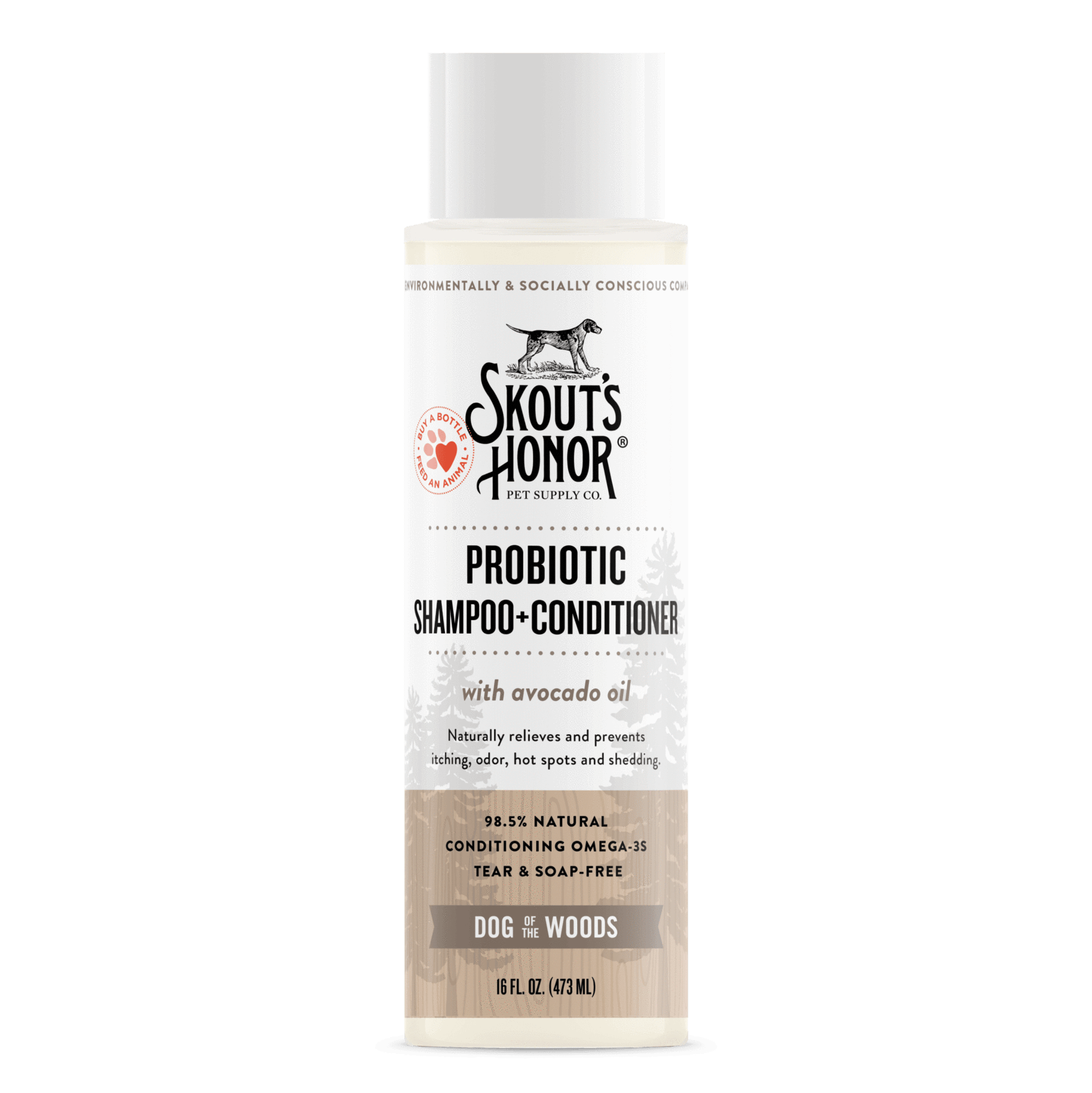 Skout's Honor Skout's Honor Dog Of The Woods 2-in-1 Shampoo & Conditioner 16oz