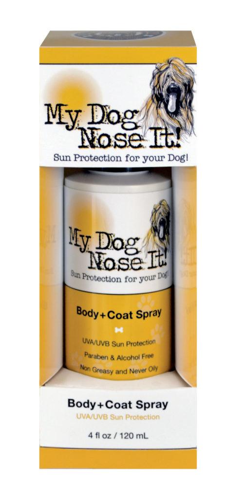 My Dog Nose It My Dog Nose It Body + Coat Spray Sunscreen 4oz