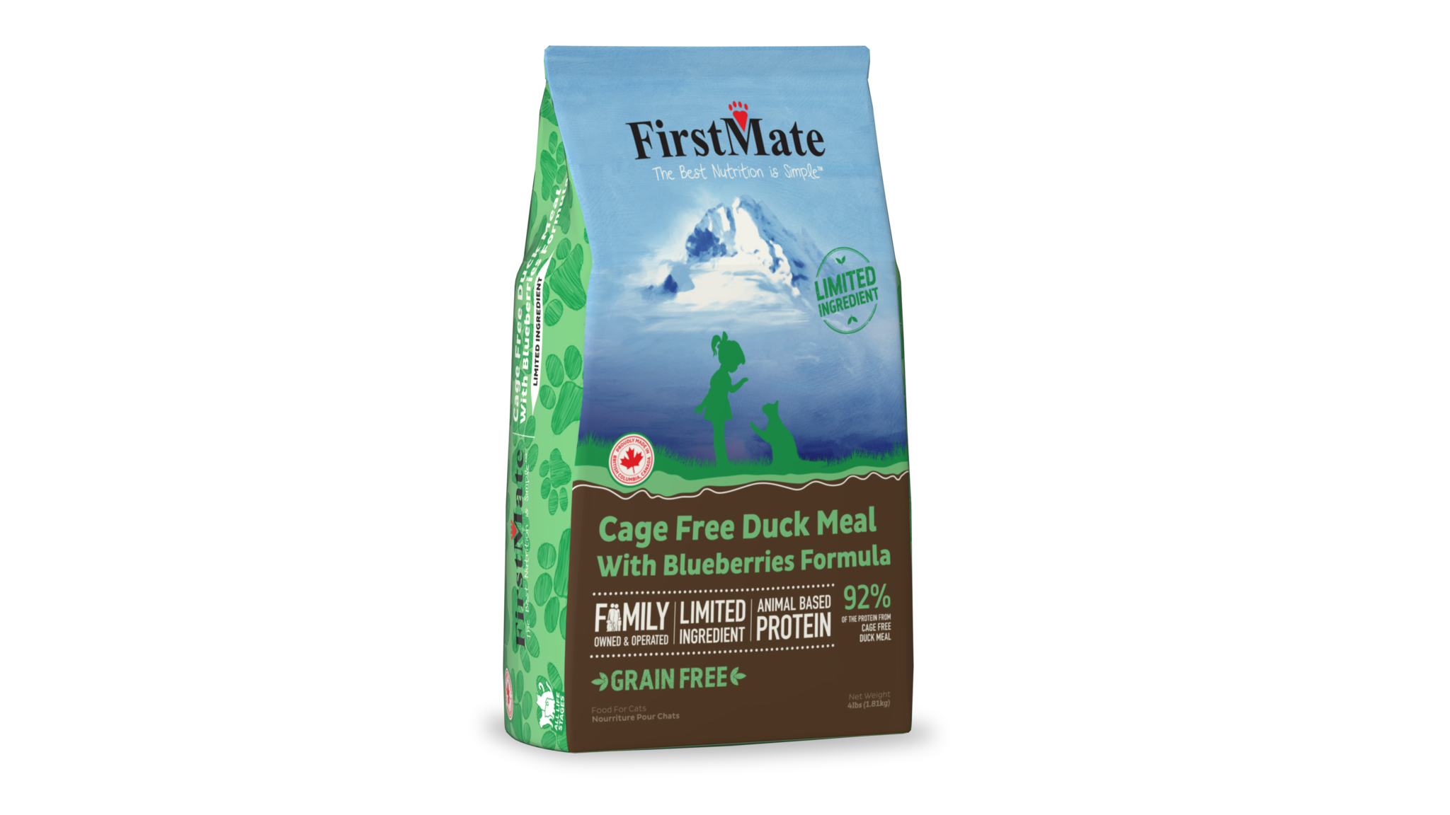 FirstMate FirstMate Duck & Blueberries Dry Cat Food