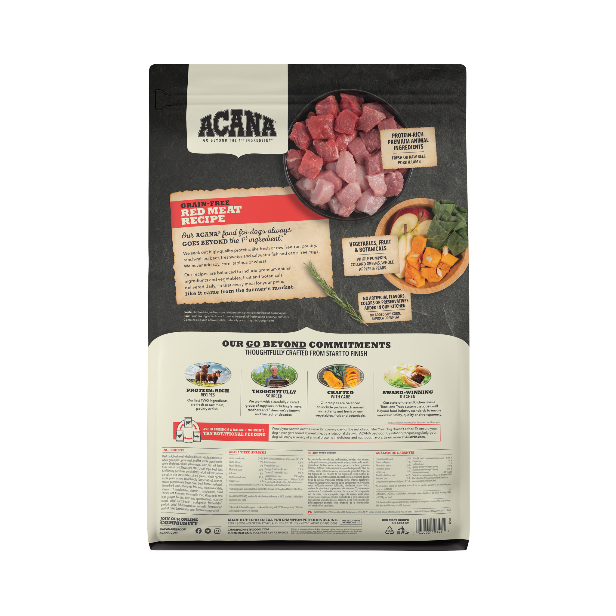 Acana Acana Heritage Red Meat Dry Dog Food