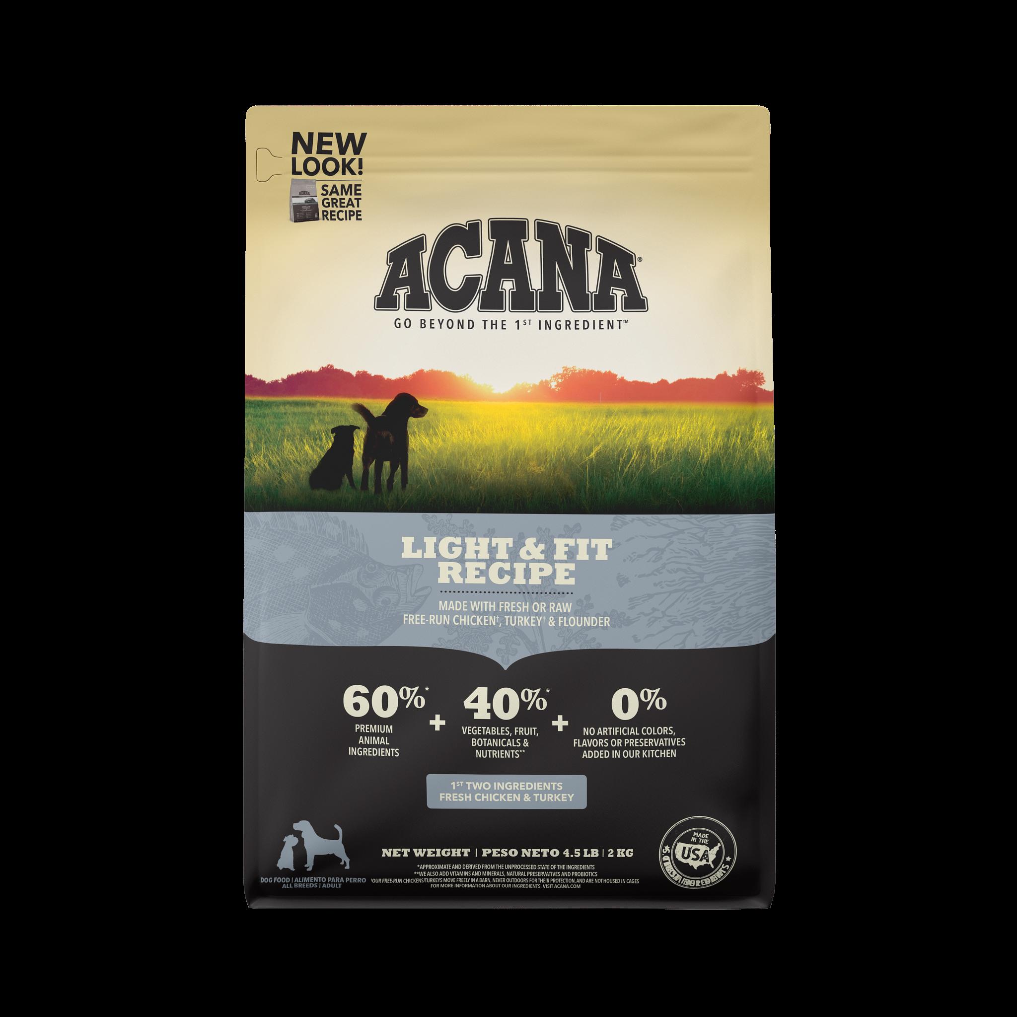 Acana Acana Heritage Light & Fit Dry Dog Food