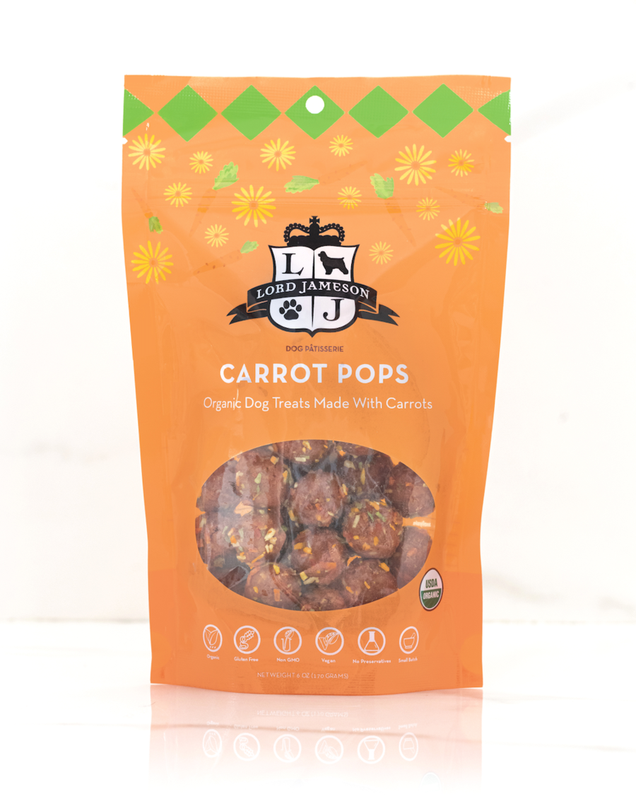 Lord Jameson Lord Jameson Carrot Pops Dog Treat 6oz