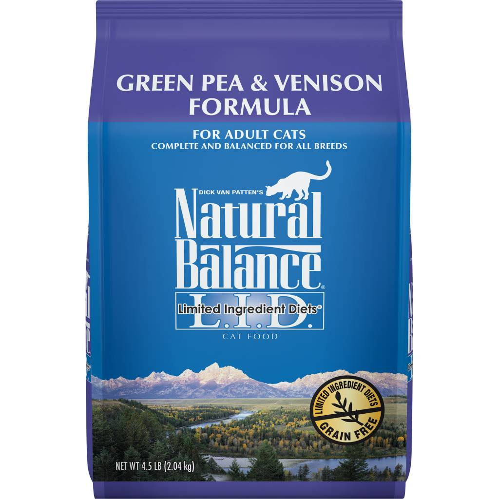 Natural Balance Natural Balance Green Pea & Venison Dry Cat Food 4.5#