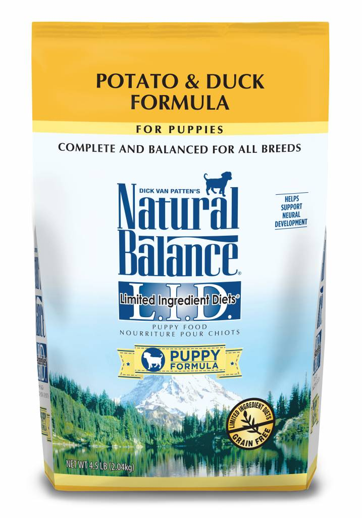 Natural Balance Natural Balance Limited Ingredient Diet Duck & Potato Puppy Dry Dog Food 4.5#