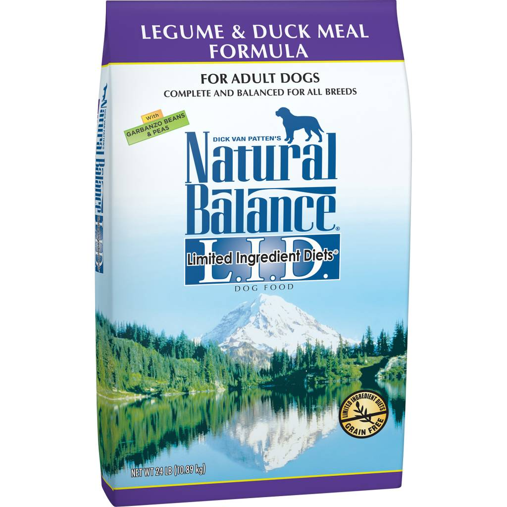 Natural Balance Natural Balance Limited Ingredient Diet Legume & Duck Dry Dog Food 24#