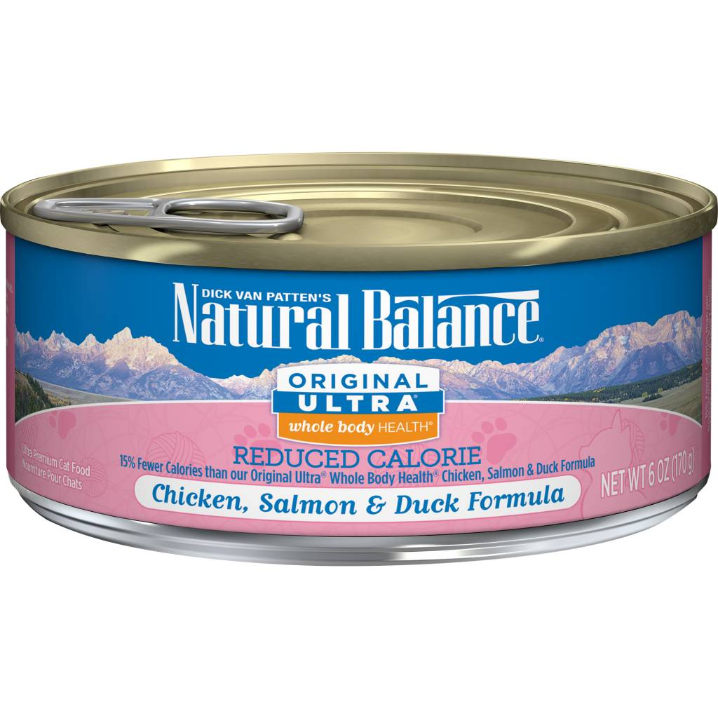 Natural Balance Natural Balance Ultra Reduced Calorie Wet Cat Food 6oz