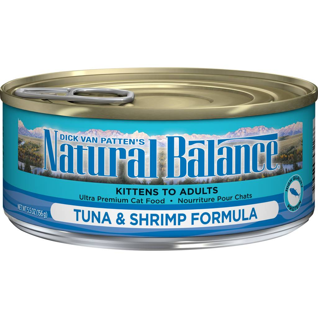 Natural Balance Natural Balance Tuna & Shrimp Wet Cat Food 5.5oz