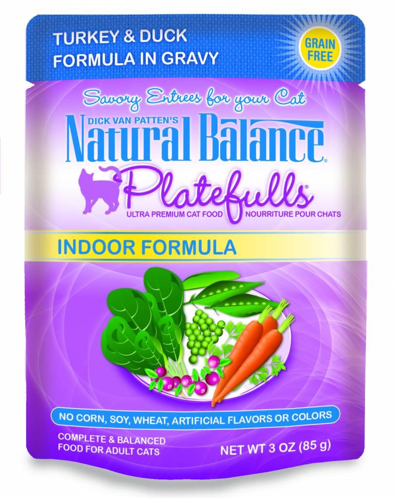 Natural Balance Natural Balance Platefulls Indoor Turkey & Duck Wet Cat Food 3oz