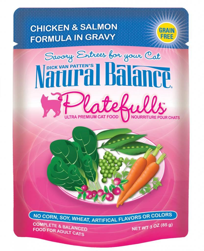 Natural Balance Natural Balance Platefulls Chicken & Salmon Wet Cat Food 3oz