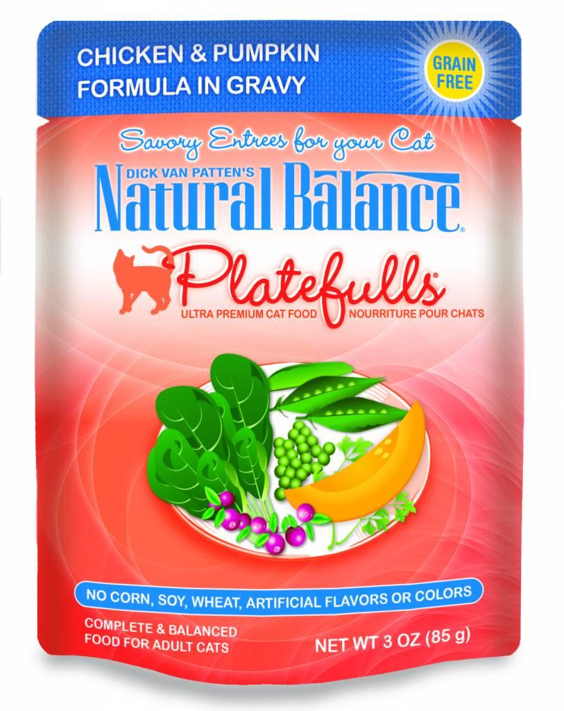 Natural Balance Natural Balance Platefulls Chicken & Pumpkin Wet Cat Food 3oz