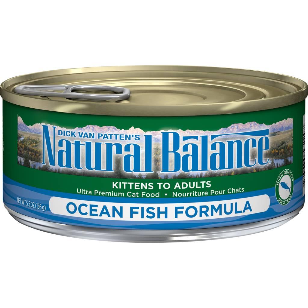 Natural Balance Natural Balance Ocean Fish Wet Cat Food 5.5oz