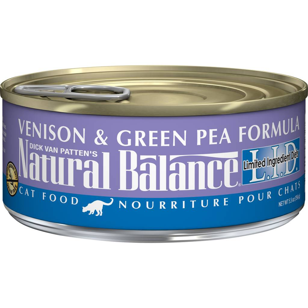 Natural Balance Natural Balance Limited Ingredient Diet Venison & Green Pea Wet Cat Food 5.5oz