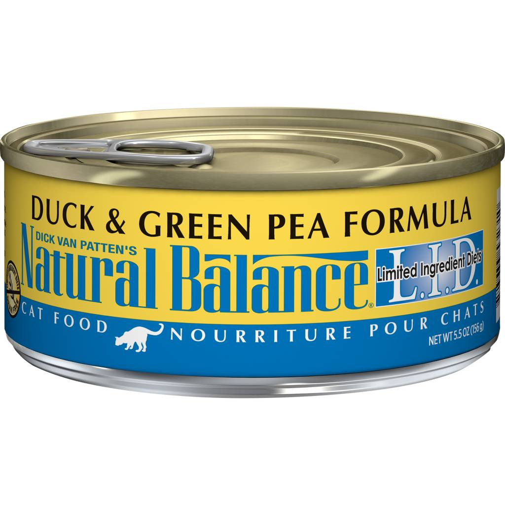 Natural Balance Natural Balance Limited Ingredient Diet Duck & Green Pea Wet Cat Food 5.5oz