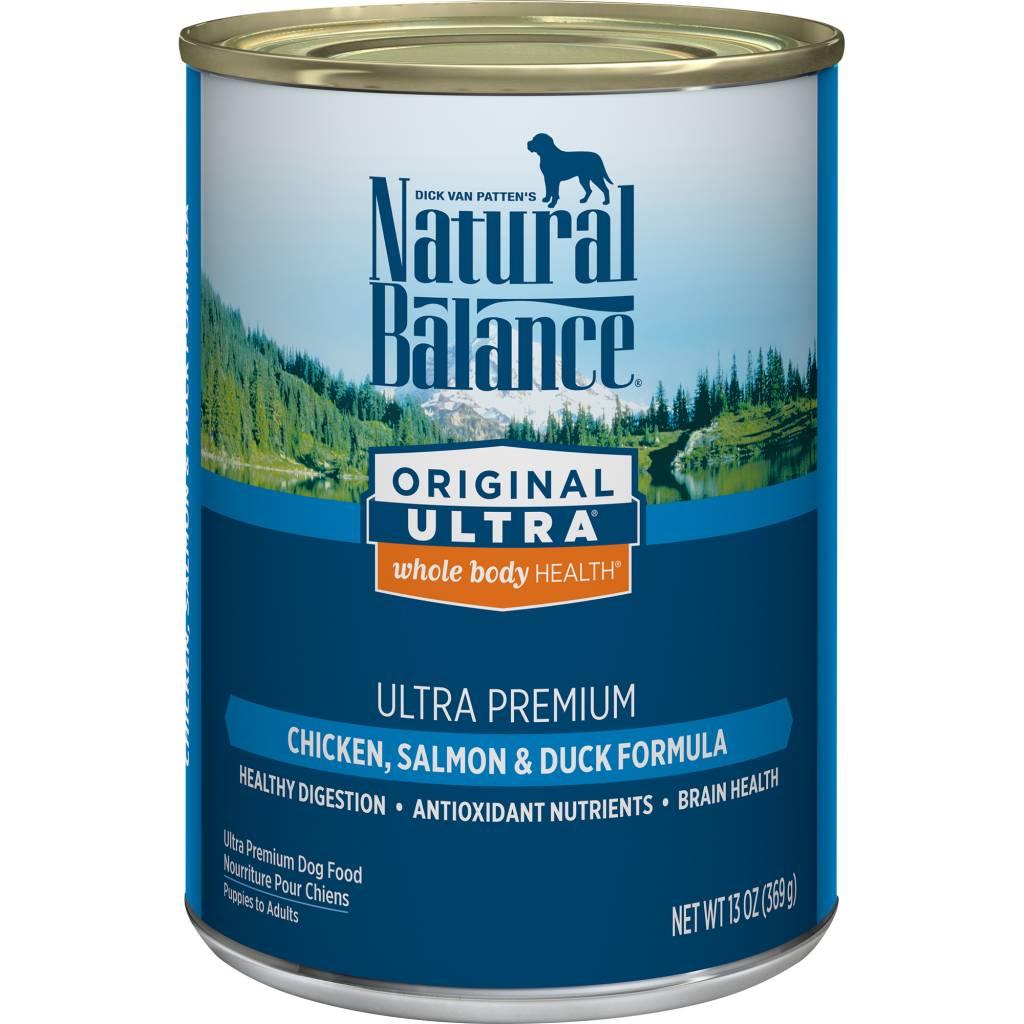 Natural Balance Natural Balance Ultra Chicken, Salmon & Duck Wet Dog Food 13oz