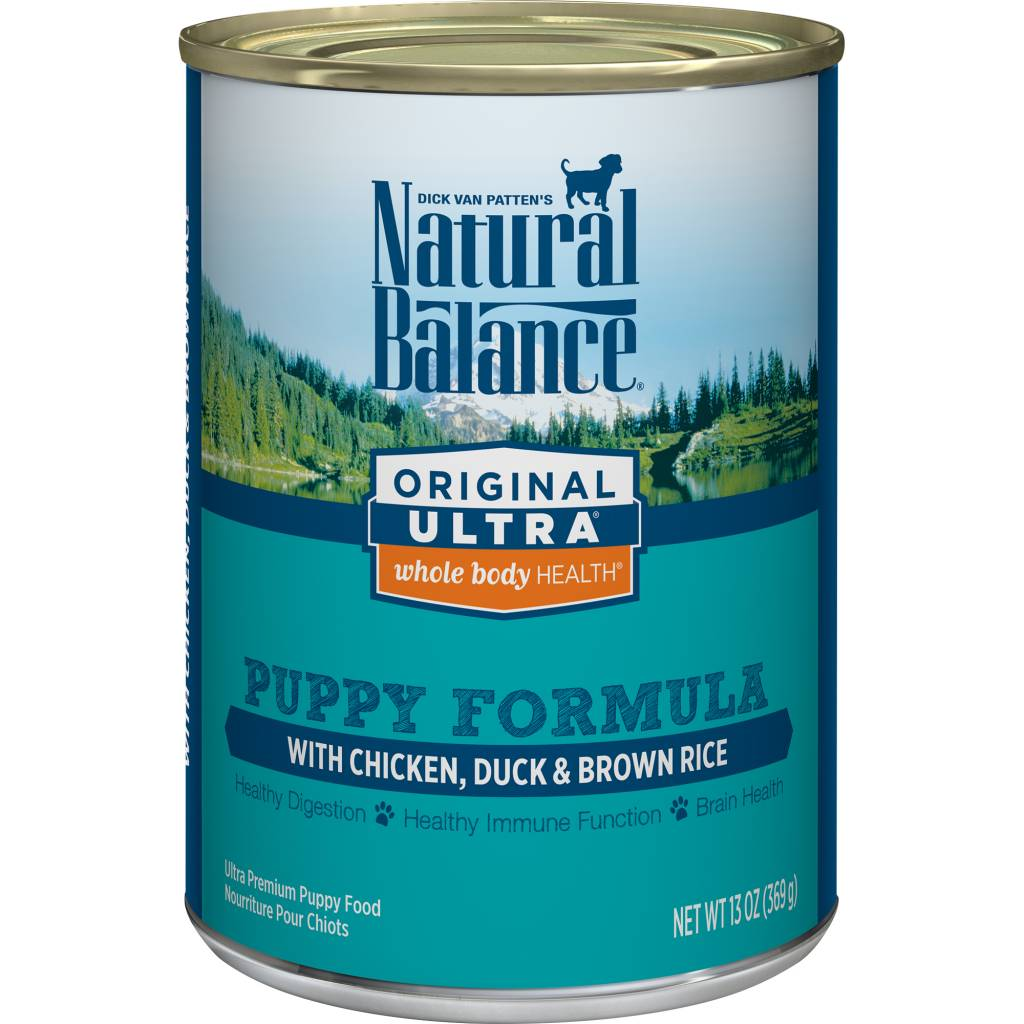 Natural Balance Natural Balance Ultra Chicken, Duck & Brown Rice Puppy Wet Dog Food 13oz