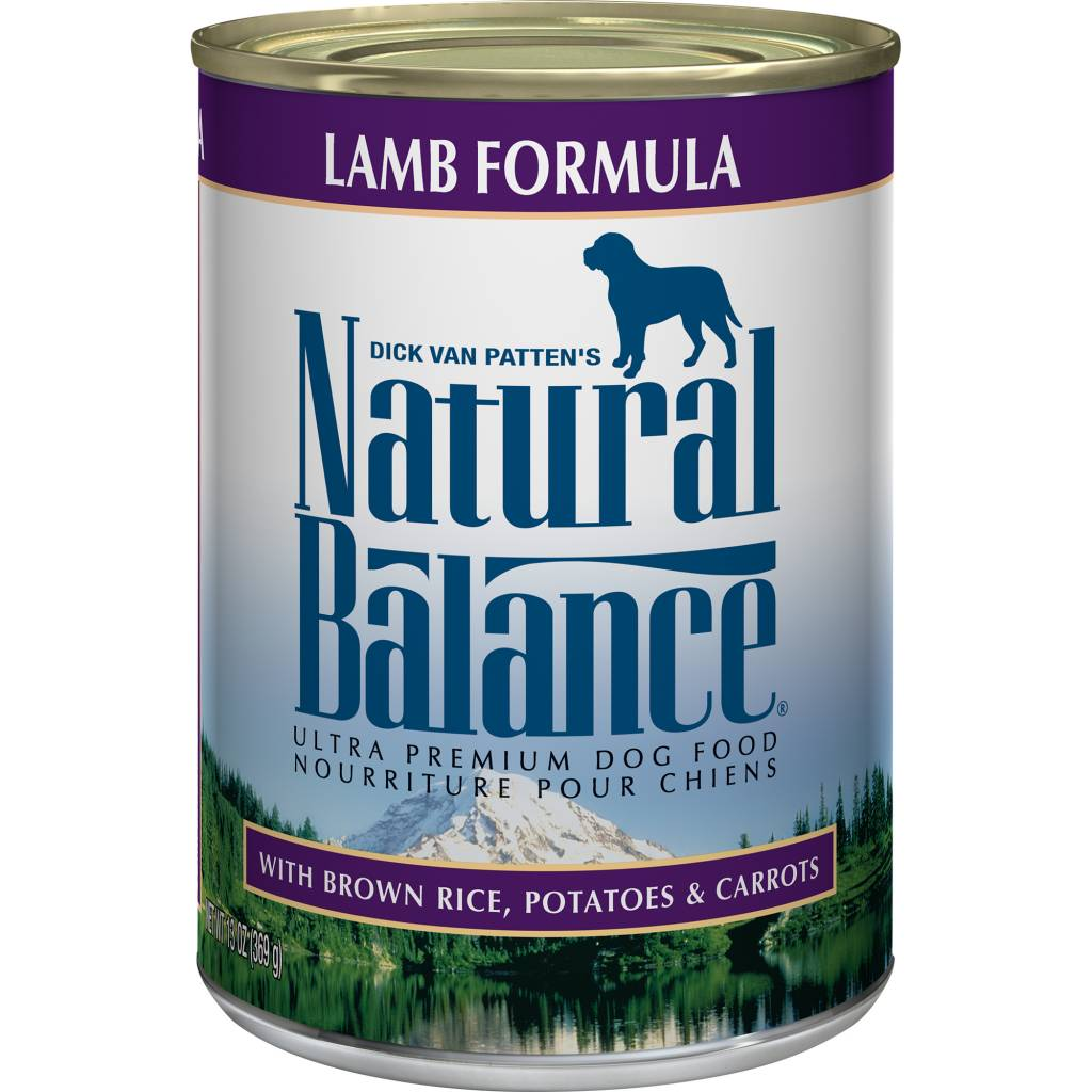 Natural Balance Natural Balance Lamb Formula Wet Dog Food 13oz