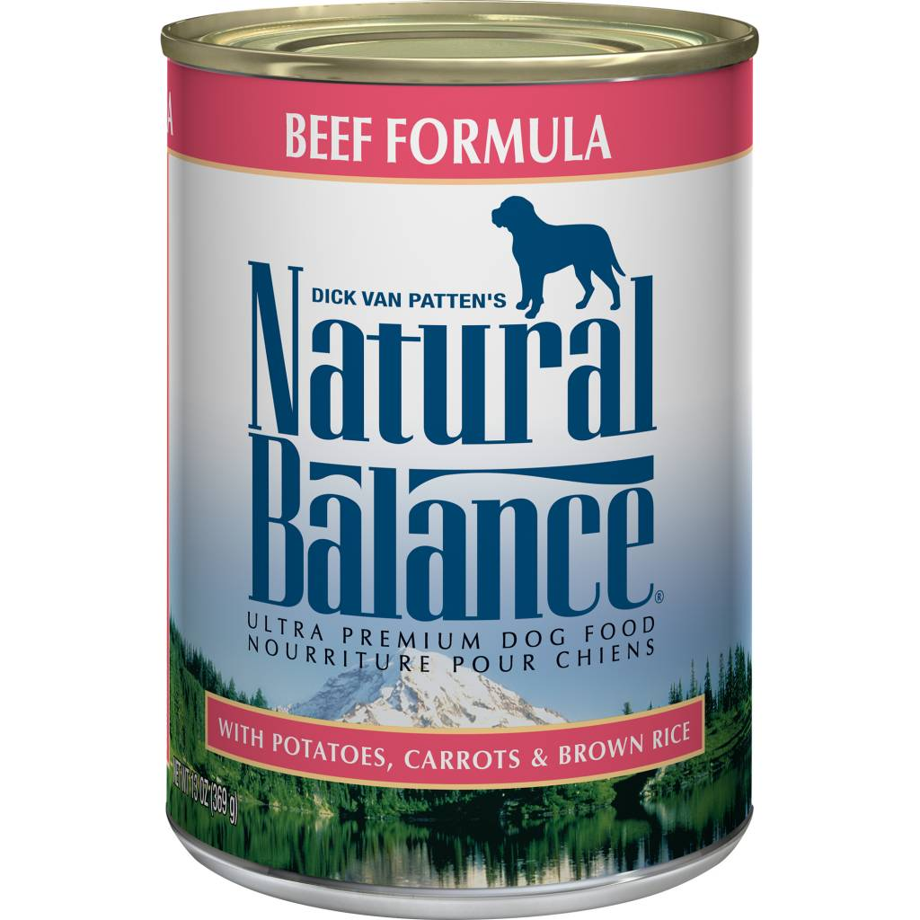 Natural Balance Natural Balance Beef Formula Wet Dog Food 13oz