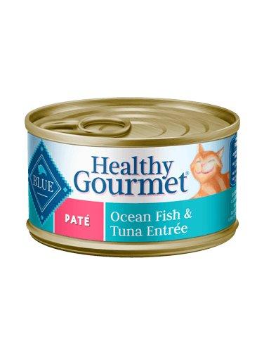 Blue Buffalo Blue Buffalo Healthy Gourmet Pate Ocean Fish & Tuna Wet Cat Food