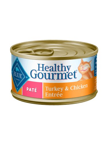 Blue Buffalo Blue Buffalo Healthy Gourmet Pate Turkey & Chicken Wet Cat Food