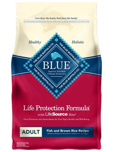 Blue Buffalo Blue Buffalo Life Protection Formula Fish & Rice Dry Dog Food