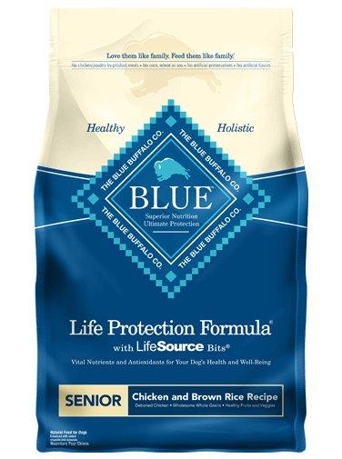 Blue Buffalo Blue Buffalo Life Protection Formula Senior Chicken & Rice Dry Dog Food
