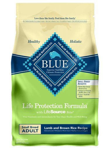 Blue Buffalo Blue Buffalo Life Protection Formula Small Breed Lamb & Rice Dry Dog Food
