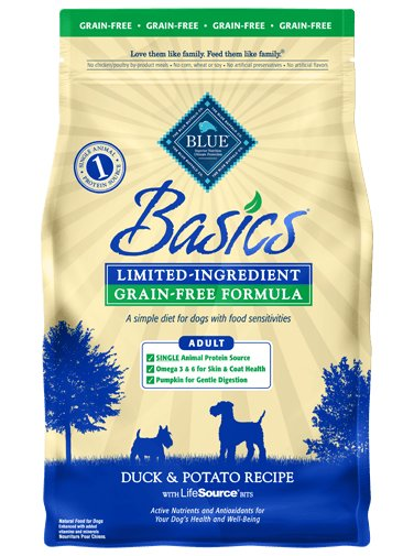 Blue Buffalo Blue Buffalo Basics Grain Free Duck Dry Dog Food
