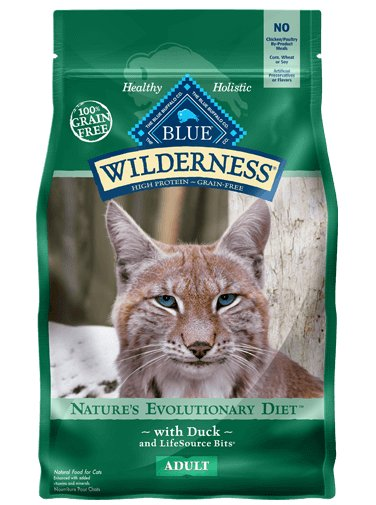 Blue Buffalo Blue Buffalo Wilderness Duck Dry Cat Food