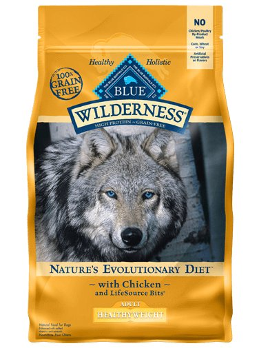 Blue Buffalo Blue Buffalo Wilderness Healthy Weight Chicken Dry Dog Food