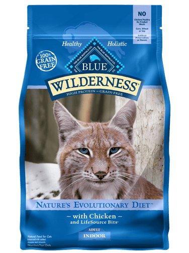Blue Buffalo Blue Buffalo Wilderness Indoor Chicken Dry Cat Food