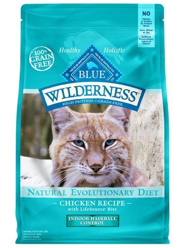 Blue Buffalo Blue Buffalo Wilderness Indoor Hairball Control Chicken Dry Cat Food