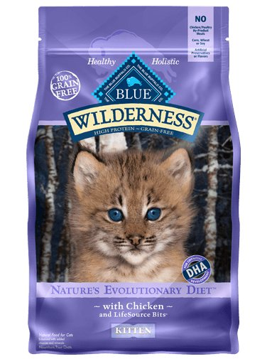 Blue Buffalo Blue Buffalo Wilderness Kitten Chicken Dry Cat Food
