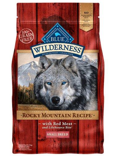 Blue Buffalo Blue Buffalo Wilderness Rocky Mountain Small Breed Red Meat Dry Dog Food