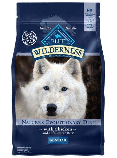 Blue Buffalo Blue Buffalo Wilderness Senior Chicken Dry Dog Food