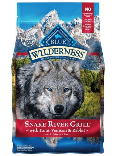 Blue Buffalo Blue Buffalo Wilderness Snake River Grill Dry Dog Food