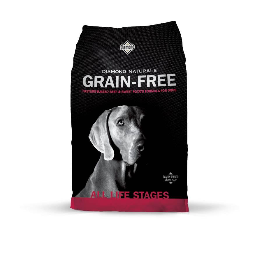 Diamond Diamond Naturals Grain Free Beef & Sweet Potato Dry Dog Food