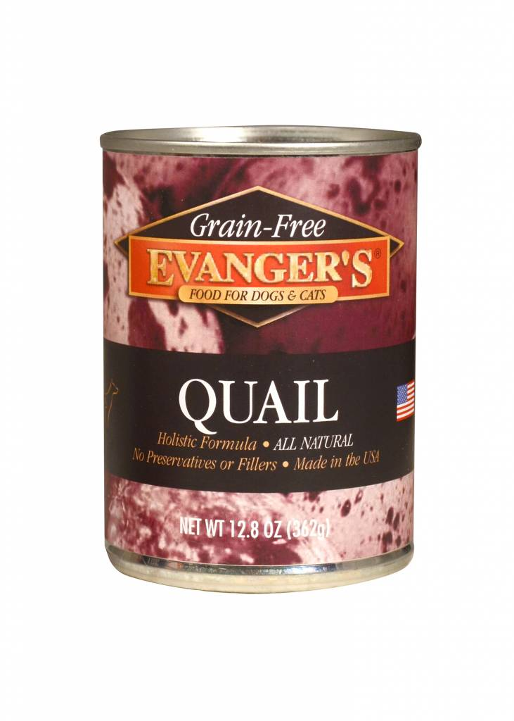Evanger's Evanger's 100% Quail Wet Cat & Dog Food