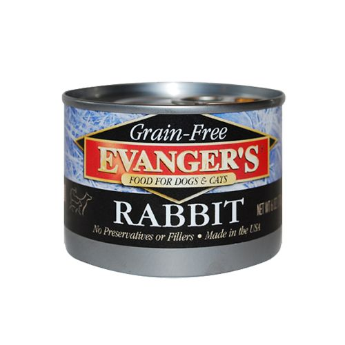 Evangers 100 Rabbit Wet Cat Dog Food Everett Wa Monroe Wa
