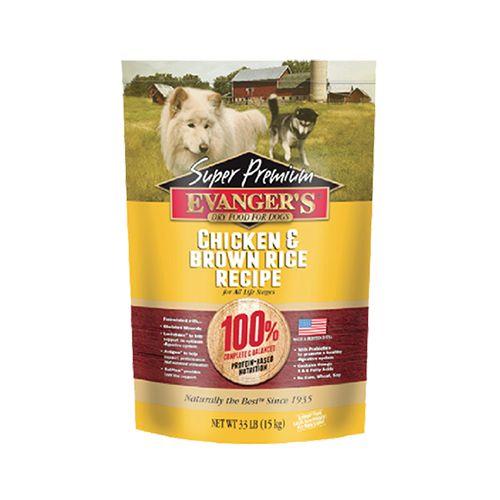 Evanger's Evanger's Chicken & Brown Rice Dry Dog Food