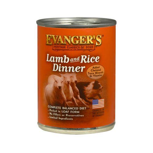 Evanger's Evanger's Classic Lamb & Rice Dinner Wet Dog Food